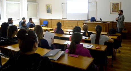 Lecture for Students of Marketing Department of the Faculty of Economics